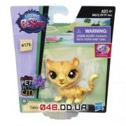 Одиночная зверюшка Littlest Pet Shop дикая полосатая кошка Табби (A8228/B7628)