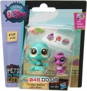 Игровой набор Littlest pet shop Осьминог и морской конек Coralina Reefton & Aya Waterly (A7313-B5691)
