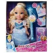 Кукла принцесса Дисней Золушка с волшебной палочкой (поет и светится)