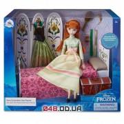 Игровой набор Дисней кукла принцесса Анна с аксессуарами (День коронации)