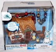 Игровой набор Дисней Домик с микро куклой Белоснежкой