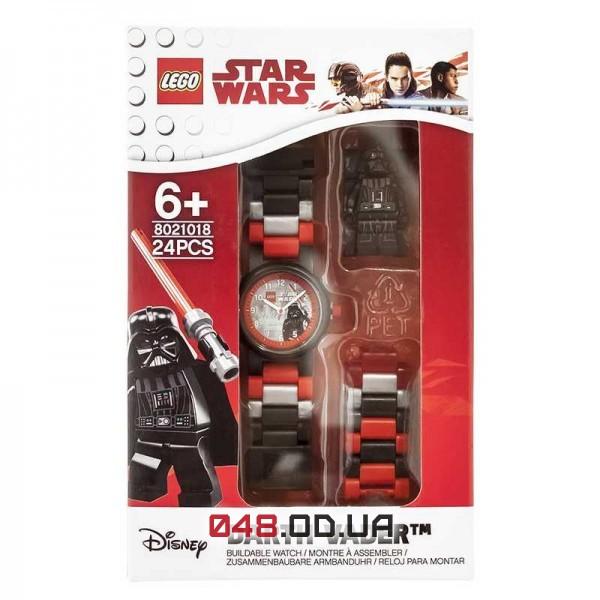 Часы наручные LEGO Дарт Вейдер с минифигуркой (8021018)