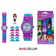 Часы наручные LEGO Friends Olivia с минифигуркой (8020165)