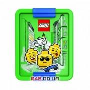 LEGO ланч-бокс салатовый с разделителем