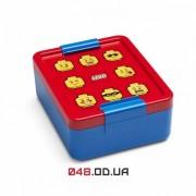 LEGO ланч-бокс для завтраков синий