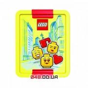 LEGO ланч бокс для желтый с разделителем
