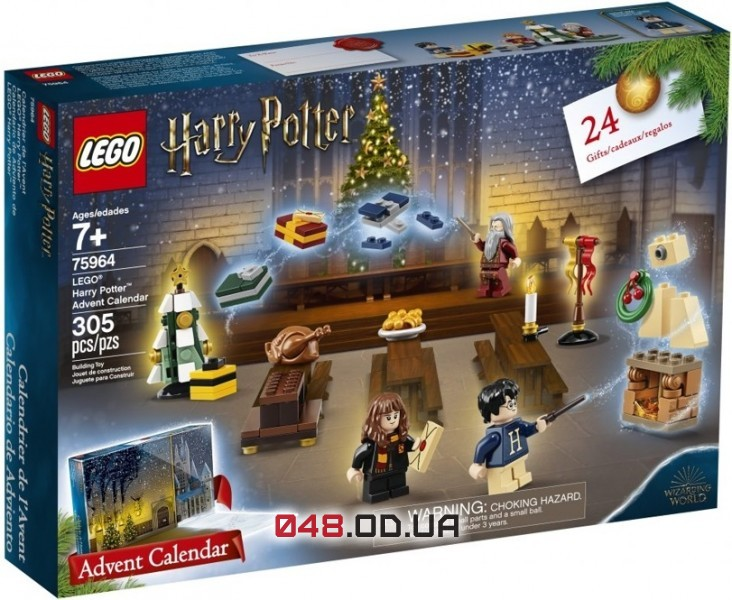LEGO Harry Potter Новогодний адвент календарь Гарри Поттер на 2020 год (75964)