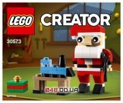 LEGO Creator полибег Санта Клаус (30573)