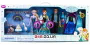 Игровой набор Делюкс поющие куклы Дисней принцессы Анна и Эльза, Кристофф