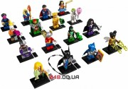 LEGO Minifigures DC Super Heroes Series: полная коллекция  (71026_17)