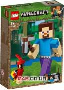 LEGO Minecraft Стив с попугаем (21148)