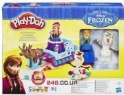 Набор для лепки Play-doh Приключение Анны на санях + Свен и Олаф