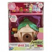Игровой набор Дисней кукла мини аниматор фея Динь-Динь с аксессуарами в домике