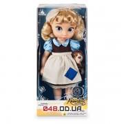 Кукла Дисней аниматор Золушка в детстве с питомцем на ручке, 39 см