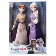 Эксклюзивный набор из 2-х кукол Дисней принцессы Анна и Эльза (Холодное сердце 2)