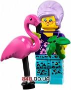 LEGO Minifigures Владелица фламинго (71025-12)