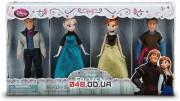 Игровой набор мини кукол Дисней: Эльза, Анна,Кристофф и Ганс (2й выпуск)
