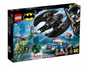 LEGO DC Super Heroes Бэткрыло Бэтмена и ограбление Загадочника (76120)