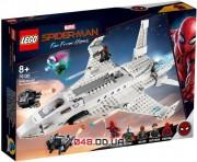 LEGO Super Heroes Marvel Реактивный самолёт Старка и атака дрона (76130)