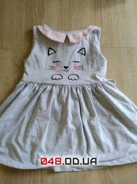 Нежное платье на 1,5-2 годика