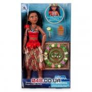 Игрвоой набор Дисней кукла Моана с аксессуарами для волос