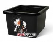 LEGO Star Wars Ящик для хранения Darth Vader L, прозрачный черный