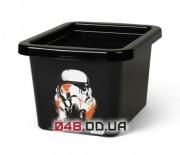 LEGO Star Wars Ящик для хранения Stormtrooper размер S, прозрачный черный