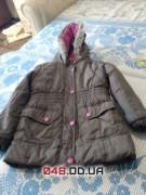 Куртка на холодную осень на флисе на 4-5 лет