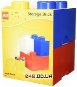 LEGO Набор контейнеров для хранения конструктора (4 шт.)