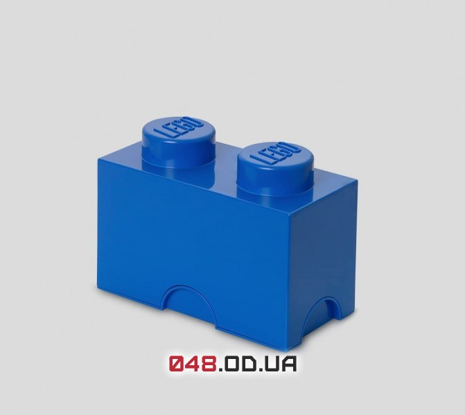 LEGO Двуточечный бокс для хранения конструктора, синий