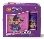 LEGO Friends школьный набор для девочек (ланч бокс + бутылка для напитков)