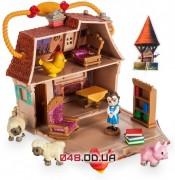 Игровой домик Дисней с фигурками: микро аниматор малышка Бель и аксессуары