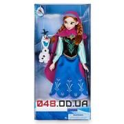 Кукла Дисней принцесса Анна с олафом