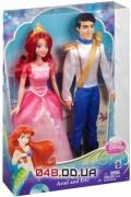 Набор из 2-х кукол Mattel русалочка Ариель и принц Эрик