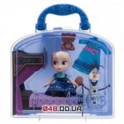 Игровой набор в чемоданчике Дисней мини аниматор Эльза с олафом с аксессуарами