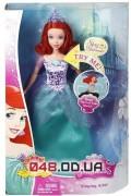 Кукла поющая Mattel русалочка Ариэль, не шарнирная
