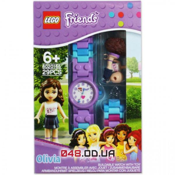 Часы наручные LEGO Friends Оливия cо сменным ремешком + минифигурка (8020165)