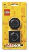 Магниты LEGO Iconic, набор из 2 шт черного цвета