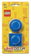 Магниты LEGO Iconic, набор из 2 шт синего цвета