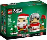 LEGO Brick Headz Мистер и Миссис Клаус (40274)