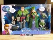 Игровой набор Mattel с куклами Анна, Кристофф и друзья тролли