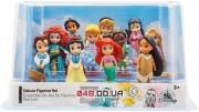 Игровой набор Дисней фигурки мини аниматоры принцессы, 11 шт (2017 г.)