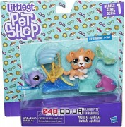 Игровой набо Littlest Pet Shop Собачка на скутере  (C2101)