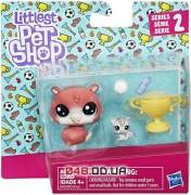 Игровой набор Littlest Pet Shop Хомяк Trip Hamston и мышонок Molly Mouseby с кубком