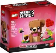 LEGO Brick Headz Ведьма Сувенирный набор Мишка на День св. Валентина (40379)