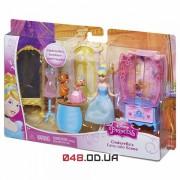 Игровой набор Mattel мини кула Золушка с мышками +аксессуары