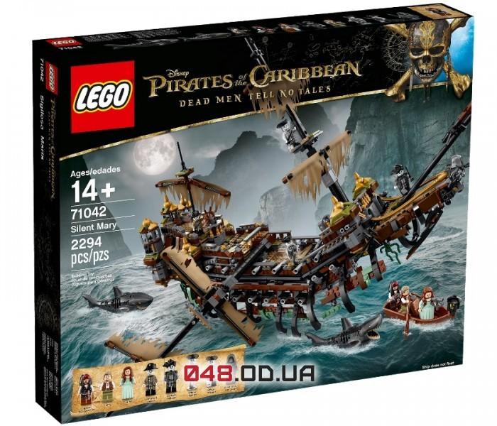 LEGO Pirates of the Caribbean Тихая Мэри (71042)