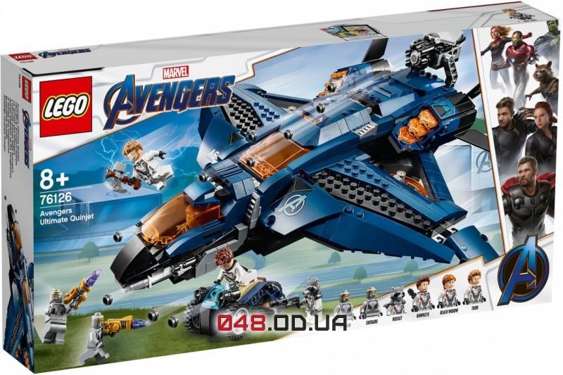 LEGO Super Heroes Marvel Модернизированный квинджет Мстителей (76126)
