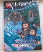 LEGO журнал Гарри Поттер с минифигуркой Сириус Блэк (на немецком языке)