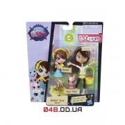 Игровой набор Littlest Pet Shop Кукла-модница Блайз и зайчик